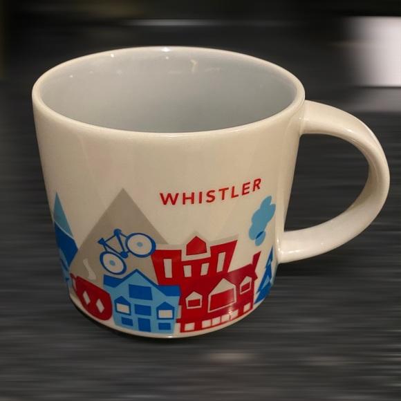 ***SOLD*** Starbucks Whistler You Are Here Mug
